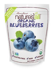 Nature's All Foods Organic Freeze-Dried Blueberries, 1.2 Ounce Pouch #food #organic #dried #blueberries #freezedried #health