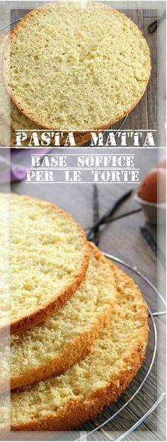 Pasta matta, base soffice per le torte base molto soffice e facile da realizzare…. scoprite i miei trucchi per un'ottima riuscita