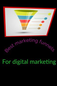 Marketing sales funnel #salesfunnel #marketingfunnels #Funnels Sales And Marketing, Online Marketing, Digital Marketing, Best Templates, Digital Magazine, Online Business
