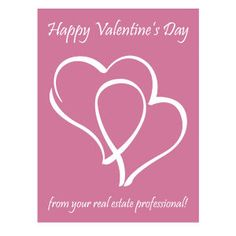clmpromotions vdp1017 valentines day postcards from your real estate professional valentines day - Valentine Real Estate