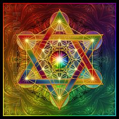 Fruit of Life - Metatron's Cube by Lilyas ( Lily)