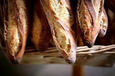 Break the bread.