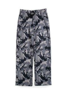 Jellifish Kids Knit Sleep Pants Boys 4-20 - Gray Dino - Xxlarge