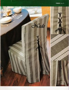 1000 images about fundas para sillas on pinterest tent for Fundas para sillones
