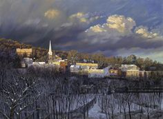 Boonton in Winter, David Henderson