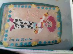 Jessie Cake Toy story theme I made