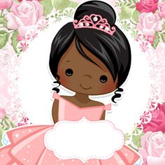 Eid Crafts, African Babies, Bear Coloring Pages, Tutu Party, Coloured Girls, Africa Art, Girl Decor, The Little Prince, Cute Cartoon