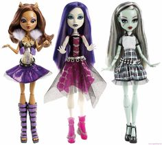 The brand new release for 2013 are the Monster High It's Alive dolls. Monster High undead have been brought to life. Bratz, Doll Stands, Little Doll, Monster High Dolls, My Collection, Doll Accessories, Rapunzel, Spectrum, Fashion Dolls