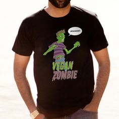 Vegan Zombie Tee now featured on Fab.