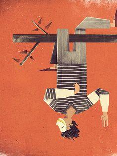 Dan Matutina. Twistedfork. Ilustración | Illustration