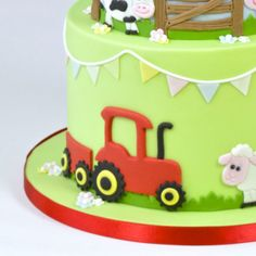 FMM Tractor cake