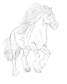 Budweiser clydesdale colored pencil t shirt design for Clydesdale coloring pages