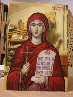 Byzantine Icons, Orthodox Icons, Saints, Painting, Fresco, Santos, Painting Art, Paintings