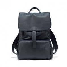 Zaino Uomo Zanellato col. Dark Navy #backpack #zanellato #menstyle