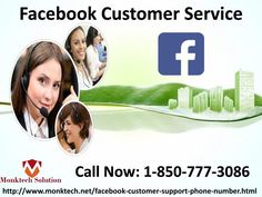 Facebook Customer Service 1-850-777-3086: A quick guide for the business pages Yes, it's well said. If you are an admin of a business page, you must have knowledge how to promote it. In case, you don't have, you can dial our toll-free number 1-850-777-3086 and attain our Facebook Customer Service. Our tech maestros will guide you for the same in an ease manner. Visit our official website http://www.monktech.net/facebook-customer-support-phone-number.html\n