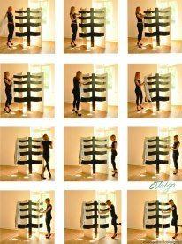 tree screen by Malgorzata Idziak, via Behance Shoe Rack, Behance, Home, Shoe Racks, Ad Home, Homes, Haus, Houses