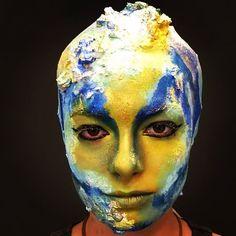 Clase de caracterización teatral #Solecester #escuelademaquillaje #instagood #hair #character #teatro #teatrocolon