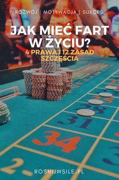 Czasem po prostu trzeba mieć farta...ale czy szczęściu można dopomóc? Czy jest sekret szczęścia? Jak mieć fart w życiu? Co odróżnia farciarzy od pechowców? Sprawdź i niech fortuna Ci sprzyja!  #rosnijwsile #blog #motywacja #rozwój #sukces #siła #myśli #pieniądze #fart #pech #kasyno #casino #luck #psychologia #lifehack #inspiracja #marzenia #umysł #szczęście #życie Self Development, Self Help, Coaching, Diy And Crafts, Good Things, Motivation, Cool Stuff, Cool Things, Daily Motivation