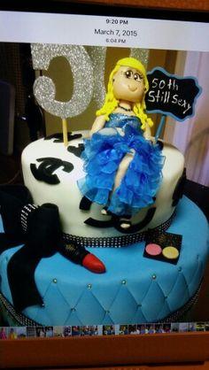 50 years birthday  cakes