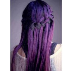 Beautiful #color! #violet #purple #hair #braid #cbdsalon #waynenjsalon (at Christina by design)