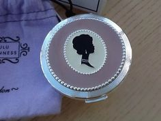 In Original Box. Made by Stratton. Stratton Compact, Lulu Guinness, Compact Mirror, Mirror Mirror, Classic Beauty, Vanities, Silhouette Cameo, I Shop, Powder