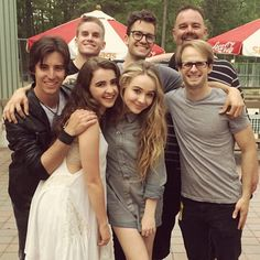 Photos: Sabrina Carpenter With Her Band At Six Flags Great Adventure May 16, 2015 - Dis411