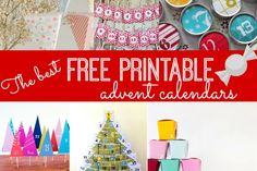 the best free printable advent calendars