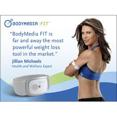 Jillian Michaels loves BodyMedia