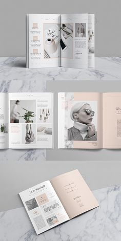 Noemi Portfolio Template #portfolio #lookbook #brochure #template #brochuretemplates #indesign #templates #layout #editorial