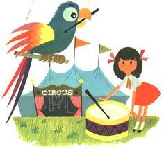 ALAIN GREE, the Little Golden Book illustrator extraordinaire