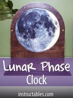 Use Raspberry Pi to build a dynamic lunar lamp that will always keep you informed about what the current phase of the moon is.