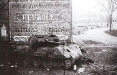 Pzbrigade 150 , Ersatz M10 ( panther Ausf G ) Ardennes, 1944/45