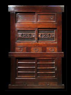 Meiji era, Kuoto Mizuya cabinet, a fine Asian antique. Photo by...?