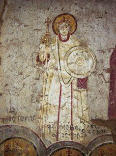 Warrior saint, Dongola.