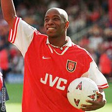 Ian Wright, Wright Wright. Arsenal.