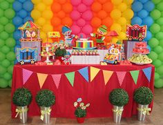 Circus party!!