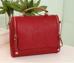 Elegant Red Handbag
