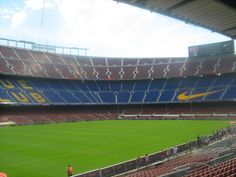 Camp Nou, Barcelona (Spain)