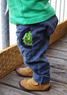 rivkahsews: eine blaue Hose für den Knirps