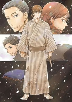 El Anime para televisión de Shouwa Genroku Rakugo Shinjuu se estrenará en Enero del 2016.