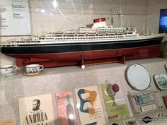 The Nantucket Shipwreck & Lifesaving museum is small but packed with history. Nantucket, Andrea Doria, Rms Titanic, Shipwreck, Model Ships, Make Design, Museum, Gio Ponti, Boat