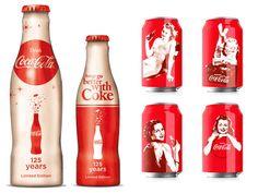 Edição limitada de latas e garrafas inspiradas nas pin-ups da década de 1940.  As pin-ups foram grande sucesso e marcaram a Coca-Cola na época.