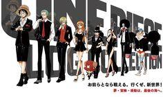 Revelado el anuncio de las siluetas en la web del Anime One Piece.