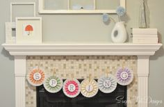 Free printable Spring banner! #crafts