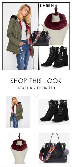 """Sheinside VIII/7"" by dzemila-c ❤ liked on Polyvore featuring Sheinside"