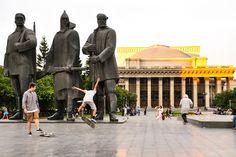 Novosibirsk: 3.303 km recorridos en 1 día y 22 horas