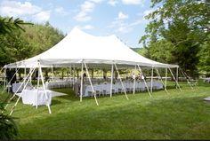 Garden Wedding Tent I Coral Gables Bridal Shop I Chic Parisien I cpbride.com/blog