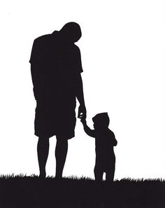 happy fathers day black and white clipart