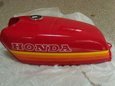 Honda CB 50 Cafe Racer New Original Fuel Gas Tank 1970s Vintage | eBay