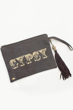 For her: Distressed Leather Laptop Pouch // Spell & the Gypsy Collective #Shopify